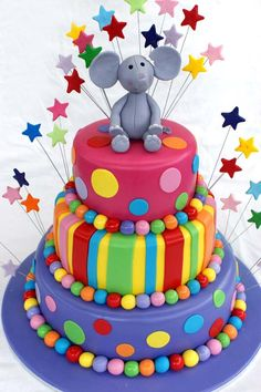 Google Image Result for http://fc00.deviantart.net/fs70/i/2011/013/3/6/colorful_3_tier_cake_by_verusca-d373sp8.jpg