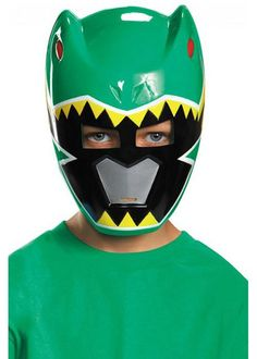 Tommy Oliver, Plastic Mask, Power Rangers Dino, Green Ranger, Party Stores, Batman, Child, Superhero, Fictional Characters