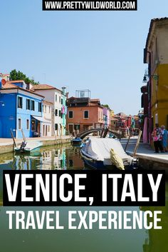 Do you want to visit Venice in Italy? Travel and see the world famous canals and romantic views? Read my travel experience or pin this for later read!