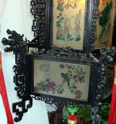 Asian Antiques | Chinese Antique Style Dragon Palace Lantern 2 ft. For Sale | Antiques ...