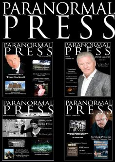 Just a screen shot of covers from The Paranormal Press Paranormal, Screen Shot, Cover, Slipcovers