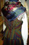Kvendrakt back with scarf Fashion History, Folk, Dreadlocks, Hair Styles, How To Wear, Clothes, Beauty, Design, Hair Plait Styles