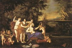 Francesco Albani - Venus Attended by Nymphs
