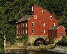 Red Mill (Clinton, NJ) :: Old Barns, Covered Bridges & Mills « Ed Vatza Photography