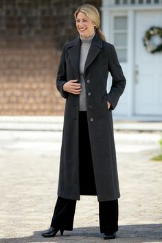 Classic Long Coat - Chadwicks of Boston