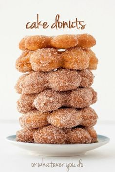 Cake Donuts - made from scratch!