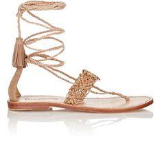 Ulla Johnson Javi Lace-Up Sandals at Barneys New York