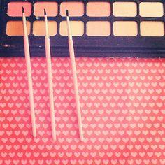 pennelli per decorazione torte o trucco? l'importante che sia pink! #cakedesign