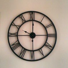 Grote houten klok XL   Waterfront moodbord   Pinterest   Clocks ...