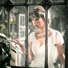 Brautkleid Valea Seide, Wedding dress silk, bridal style