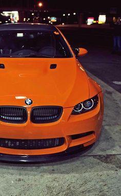 BMW E92 M3 orange