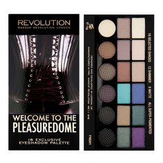 Make Up Revolution Salvation Palette Welcome to the Pleasuredome