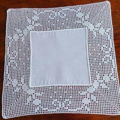 Ganchillo Crochet Doily Diagram, Filet Crochet, Crochet Doilies, Crochet Patterns, Crochet Boarders, Crochet Tablecloth, Chrochet, Free Pattern, Diy And Crafts