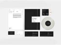 Stille, logo, branding, identity, minimal, techno, music, grid, label, monochrome, type, font, typographic, stationery