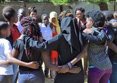 """""""These are our girls, it's amazing how far they've come."""" #SharetheJourney   Rev. Logue of the Episcopal Diocese of Georgia wrote this beautiful blog on Heshima Kenya and why we need to lift up the vulnerable."""