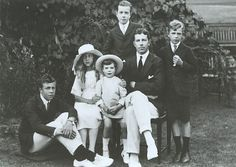 Crown Prince Gustaf Adolf (later King Gustaf VI Adolf) of Sweden with his children. From left to right Prince Gustaf Adolf, Princess Ingrid, Prince Carl. Crown Prince of Sweden with his children Adele, Kingdom Of Sweden, Swedish Royalty, Young Prince, Danish Royal Family, Danish Royals, Princess Margaret, Royal Weddings, Kaiser