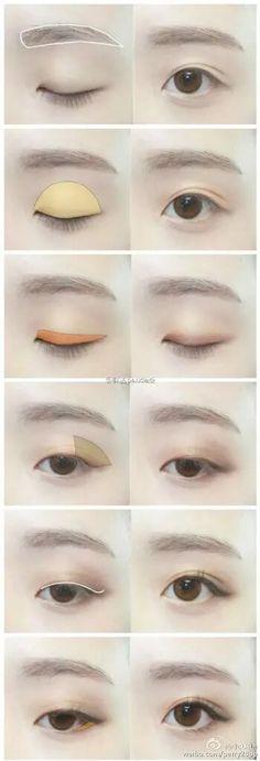 15 trendige Make-up-Tipps asiatische Augenbrauen Asian Make Up, Korean Make Up, Eye Make Up, Make Up Korea, Korean Style, Asian Eyebrows, Asian Eyes, Eye Brows, Arched Eyebrows