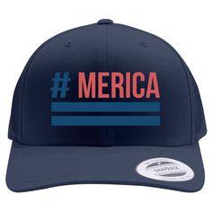 'Merica Retro Trucker Hat