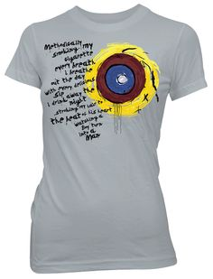 kind of want this shirt. will probably eventually get it as a tattoo though.