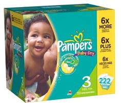Amazon Diaper Deal: Pampers Diapers 5¢ Per Diaper + Free Shipping