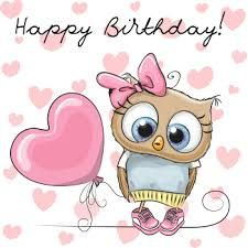 Image result for happy birthday owl