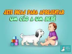 7 Dicas para Apresentar um Cão a um Bebê - http://www.comotreinarumcao.com.br/apresentar-um-cao-a-um-bebe