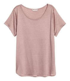 Lyocell top | Pink | LADIES | H&M NZ