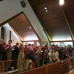 Christmas Cantata Rehearsal