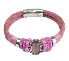 Magneetarmband roze €4,95