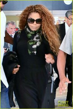 Janet Jackson at LAX Airport - August 04, 2015