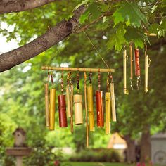 Just Add Wind Chimes  Enjoy the sounds of music on your patio. Wind chimes are a traditional, yet stylish part of the outdoor lifestyle. You...