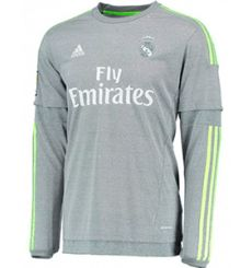 Camiseta Manga Larga 2ª Real Madrid15 16 Sudadera Real Madrid 6f9ac2a8e26f4