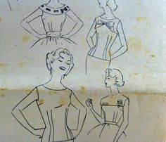 Simplicity 50s Vintage Simple To Make by VintageNeedleFinds,
