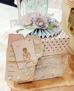 Melissa Frances Decorated Box from CHA