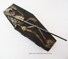 Skeleton Wand Durmstrang Student