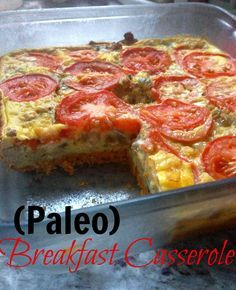 Broke and Bougie: Clean Eating. Paleo Breakfast Casserole