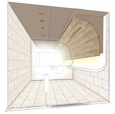 Gallery of Smoking Room Grand Tree Musashikosugi / Hiroyuki Ogawa Architects - 15 Arch Interior, Interior And Exterior, Interior Design, Scandinavian Office, Best Bathtubs, Public Bathrooms, Small Office, Smoking Room, Other Rooms