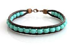 Leather bracelet  http://www.sashe.sk/kacenkag/detail/tyrkys-s-cokoladou