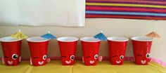 Shopkins Birthday Party Cups!