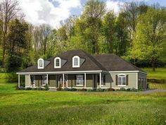 Graceful Southern House Plan - 68426VR | 1st Floor Master Suite, Butler Walk-in Pantry, CAD Available, Corner Lot, Den-Office-Library-Study, PDF, Southern, Split Bedrooms, Wrap Around Porch | Architectural Designs