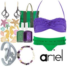 Ariel, created by disney-bound....maybe just the swim suite but its cute:)