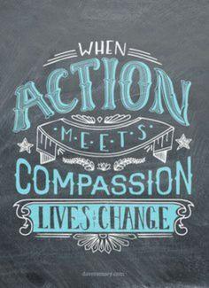 When Action Meets Compassion Social Work, Social Issues, Makeup Younique, Non Profit, Compassion, Business Women, Entrepreneurship, Mascara, Lashes