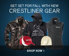 Get Ready for Fall and Winter with New Crestliner Gear