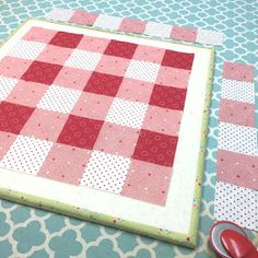 Good morning!   It's time for another episode of    Farm Girl Fridays!     Today we are talking about my    Gingham Block     This was ...