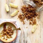 Wir machen heute unser eigenes Knuspermüsli, Ohne Zucker und garantiert gesund. Granola wäre wohl die hippere Bezeichnung Gleiche. Der Unterschied liegt einzig