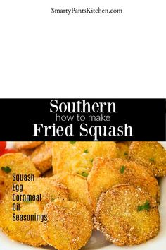 Easy Southern Fried Squash recipe. Quick and easy, beginner recipe. Easy Recipes For Beginners, Cooking For Beginners, Summer Recipes, Fried Squash Recipes, Yellow Squash Recipes, Southern Dishes, Southern Recipes, Vegetable Side Dishes, Vegetable Recipes