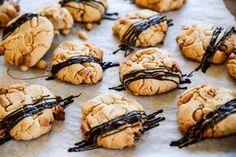 Magiskt goda jordnötskakor med choklad, de här är omöjliga att motstå!