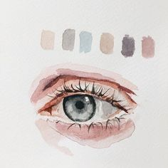 What is Your Painting Style? How do you find your own painting style? What is your painting style? Watercolor Eyes, Watercolor Portraits, Watercolor Paintings, Drawing Portraits, Watercolours, Watercolor Portrait Tutorial, Simple Watercolor, Watercolor Artists, Watercolor Pencils
