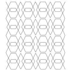 Digital Quilting Design Vortex by Karlee Porter