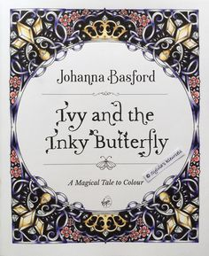 A new start in my second book from Ivy... the first one had bad paper... luckily this one is good #inkyivy #johannabasford #ivyandtheinkybutterfly #fabercastellpolychromos #workinprogress